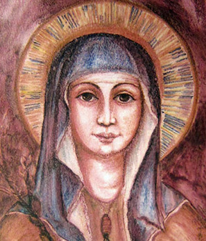 Saint Clare of Assisi icon